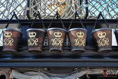 Fire buckets - HMS Victory (andyscho2004) Tags: uk greatbritain england nikon ship unitedkingdom navy nelson symmetry portsmouth buckets gr sailingship hmsvictory lordnelson britishnavy flagship d90 firebuckets