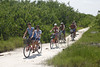 around Holbox island by bicycle