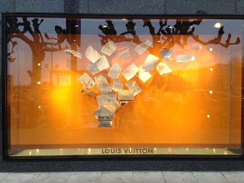 Vitrines Louis Vuitton - Genève, janvier 2013