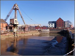 Former Dry Dock ... (** Janets Photos **) Tags: uk docks buildings mud yorkshire rivers silt kingstonuponhull blinkagain