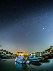PhoTones Works #2529 (TAKUMA KIMURA) Tags: sea nature japan landscape star scenery 日本 自然 海 starry 風景 omd ushimado kimura 景色 星空 takuma 琢磨 星 木村 em5 牛窓 photones