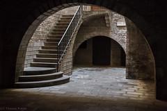 Gate to Augustus' temple (Thomas Frejek) Tags: barcelona spanien 2013