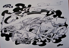 Bims (GhettoFarceur) Tags: life white trash army sketch high desk ghetto bims farceur ikscrew