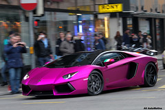 Oakley (AK AutoMotive) Tags: pink car switzerland design purple geneva wheels fuchsia lamborghini supercar spotting oakley adv1 aventador lp700 lp760