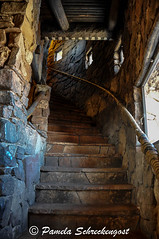 Up the Stairs (pamelainob (Pamela Schreckengost)) Tags: arizona stairs grandcanyon southrim desertview watchtower grandcanyonnationalpark desertviewdrive grandcanyonsouthrim pamelaschreckengost pamschreckcom 2013pamelaschreckengost