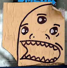 Choice Royce Sticker Found In Lower Manhattan. (Allan Ludwig) Tags: lowermanhattan choiceroycesticker