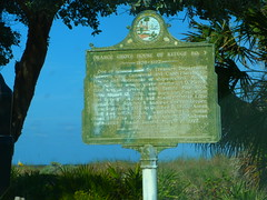 Delray Beach (bunnygoth) Tags: beach sign florida marker historical delray 2013