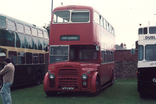 Isle of Man Leyland Titan PD3A/MCW 74 69UMN at Locke Park, Barnsley