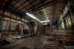 The cell (Sshhhh...) Tags: urban abandoned industrial decay pipes neglected jet demolition gas engines exploration hdr turbines urbex pye pyestock cell4