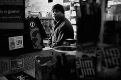Plainsboro Deli Owner (Anton Shvets) Tags: canon store nikon flash grain owner clerk plainsboro