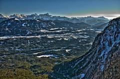 blue mountains (Guybrush Threepwood 2012) Tags: winter snow mountains alps austria sterreich view krnten carinthia hdr dobratsch villacheralpenstrase mygearandme