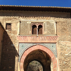 Alhambra.06 (Simon Aughton) Tags: espaa architecture spain muslim islam alhambra moorish granada moors iphone moslem iphoneography
