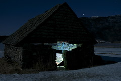 The boatshed! (Bggi) Tags: winter norway norge vinter fullmoon moonlight naustet boatshed vetur mnelys gjnavatnet