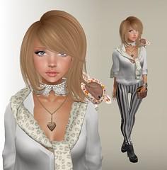 LOTD 29th March (+Cocoro+) Tags: fashion truth tram mg secondlife mayfly dlab tsg erratic thearcade maitreya villena handverk cheapmakeup upgrd lasstitudeennui