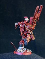 IMG_1662 (Scott Steinhart) Tags: blood chaos warhammer 40000 berzerker khorne