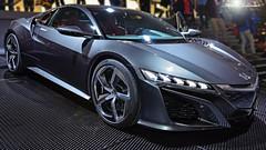 Honda NSX Concept (RedWizard86) Tags: auto mostra street city light car honda lago lights hp automobile power f1 ombre potenza tires salone formula luci concept svizzera rosso riflessi ginevra c