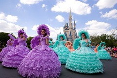 Happy Easter from The Magic Kingdom (Don Sullivan) Tags: world easter magic kingdom disney trail azalea waltdisneyworld walt maids magickingdom mainstreetusa azaleatrailmaids cinderellacastle canonef2470mmf28liiusm
