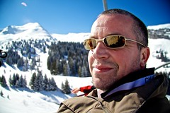 Uncle Keith (markVNH) Tags: trip family winter mountain france snowboarding europe skiing uncle skilift avoriaz morzine wintersports