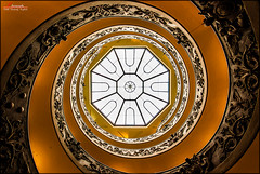Spiral (_Hadock_) Tags: desktop wallpaper italy vatican roma verde apple stairs turn logo de spiral lost high nikon stair italia ipod image screensaver background creative snail 7 8 sigma commons twist screen full corporation vaticano seven hd museo ocho dharma range 102