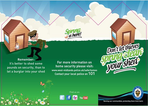 Don't let thieves spring clean your shed by West Midlands Police, on Flickr