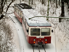 walrus lost in the hills of Buda (Balzs Kiss) Tags: snow ice train budapest panasonic cogwheel buda jg bkv mft h fogaskerek microfourthirds panasonicg2