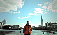 London (guillermogg) Tags: city uk london rio thames river unitedkingdom lifestyle londres milleniumbridge tamesis shardofglass theshard londonbridgetower shardlondonbridge guillermopineda