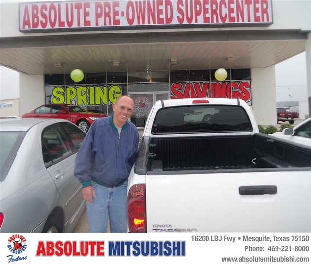 new car sedan truck happy dallas texas tx used mesquite bday dfw van minivan suv coupe mitsubishi dealership absolute shoutouts hatchback dealer customers 4dr metroplex 2dr preowned