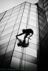 Window cleaner. Canberra, Australia. 2011 (PROSECMAN) Tags: windowcleaner tomcrossanphotography