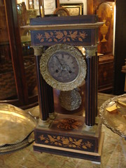 """FRENCH EMPIRE CLOCK. • <a style=""""font-size:0.8em;"""" href=""""http://www.flickr.com/photos/51721355@N02/8637798725/"""" target=""""_blank"""">View on Flickr</a>"""