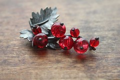 "Brooch ""red currant"" (vikafogallery) Tags:"