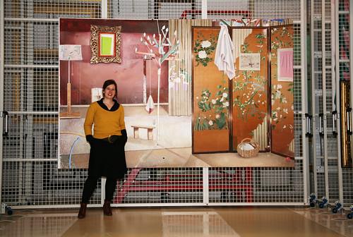 Matthias Weischer - Interior with Mobile  2007  - Detail by Cea Matthias Weischer Detail