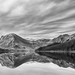 """Reflections Buttermere in B&W • <a style=""""font-size:0.8em;"""" href=""""https://www.flickr.com/photos/21540187@N07/8644002964/"""" target=""""_blank"""">View on Flickr</a>"""