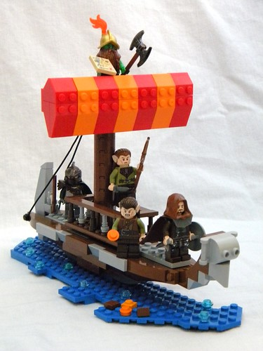 ship lego legends sail minifig vignette lancer myst minifigure moc draconia brickdom