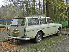 72-69-BK VOLVO Amazon P221 B18 combi, 1966 (sanders') Tags: station wagon volvo amazon estate 1966 combi kombi b18 stationwagon stationcar stationwagen p221 cwodlp 7269bk