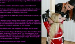 Fetish captivity (Jenni Makepeace) Tags: fetish transformation magic tgirl sissy caption captions mtf tgcaptions tgcaption