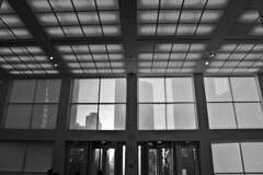 "Through the MCA lobby screens • <a style=""font-size:0.8em;"" href=""http://www.flickr.com/photos/59137086@N08/8669772613/"" target=""_blank"">View on Flickr</a>"