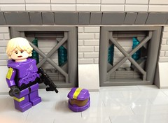 Lego Red Vs Blue Agent South Dakota (TRLegosfan) Tags: blue red lego south agent vs dakota uploaded:by=flickrmobile flickriosapp:filter=nofilter