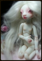 BJtales Pearl by Lidia Snul (cureilona of Lightpainted Doll) Tags: sculpture art ball photography doll artist dolls body handmade fairy tiny bjd resin magical ilona lidia polyurethane bellmer jointed snul jurgiel bjtales flickrandroidapp:filter=none
