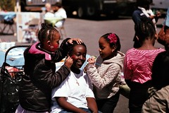 Our Lady of Sorrows Church Annual Health Fair 2013 (aaronvandorn) Tags: jerseycity facepaint littlegirls