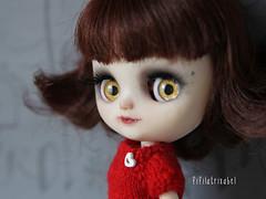 Alice in red