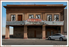 BRAWLEY THEATRE (akahawkeyefan) Tags: ca old abandoned dave movie theatre silhouettes brawley meyer defunct