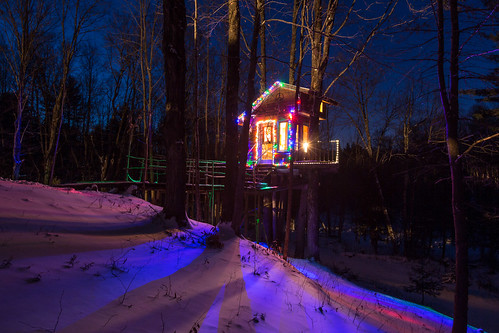 The Tiny Fern Forest Treehouse - Lincoln, VT - 2013, Feb - 02.jpg