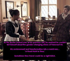 Doctor's maid (Jenni Makepeace) Tags: fetish transformation magic tgirl sissy caption captions mtf tgcaptions tgcaption