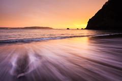 Sunset Kirby Cove (Bryan Nabong) Tags: sanfrancisco california longexposure sunset motion water northerncalifornia waves unitedstates northamerica geography marinheadlands kirbycove