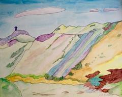Parys Mountain, Anglesey (Smabs Sputzer) Tags: parys mountain explore art acrylic canvas