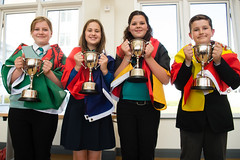 SpellingBeeFinal2016_km264 (routesintolanguages) Tags: uk wales kids modern competition aberystwyth using learning spelling welsh language foreign schoolkids talking schoolgirl schoolgirls pupil speaking vocabulary pupils spellingbee 2016 year7 europeaan wjec schoolkind langiages medrus
