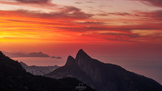 Sunrise @Pedra Bonita, #RiodeJaneiro, #Brazil