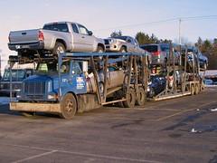 IH, DMT Tkg #121 (PAcarhauler) Tags: disc1 ih international semi carcarrier dmt truck trailer