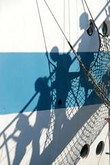 Family Business (daniel.virella) Tags: stsmir  mir thetallshipsraces2016 lisboa portugal tallships people shadows family stairs