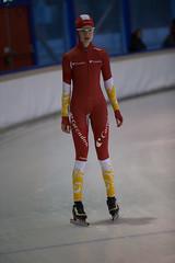 A37W7261 (rieshug 1) Tags: speedskating schaatsen eisschnelllauf skating nkjunioren knsb nkjuniorenallroundafstanden afstanden allround 50010001500massstart demeent alkmaar sportcomplexdemeent juniorenc ladies dames 500m